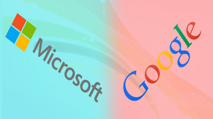 Microsoft and Google end long standing complaints against each other