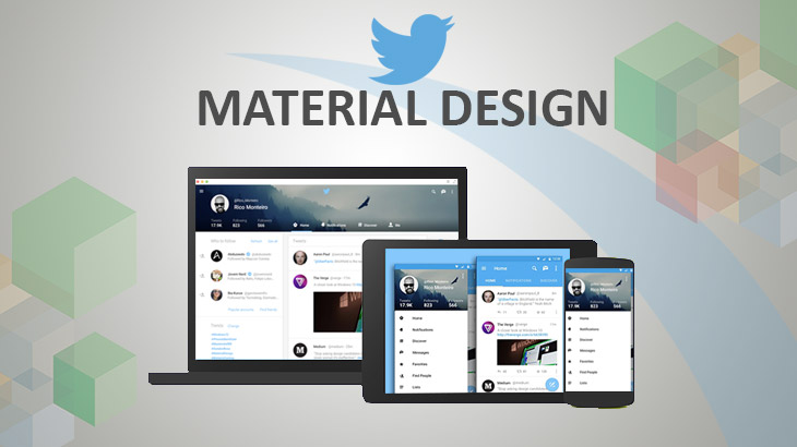 Twitter redesigns Android App