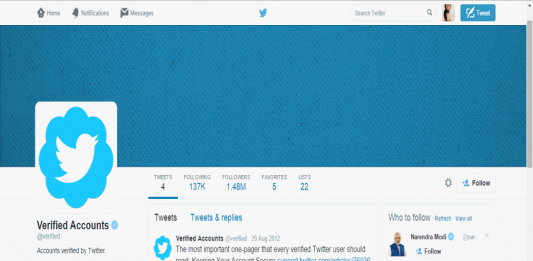 How to request a verified account on Twitter