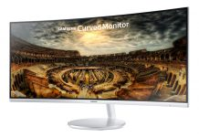 Samsung curved gaming monitor