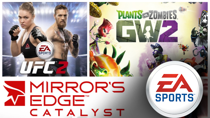 Upcoming EA games 2016