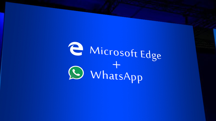 WhatsApp Web now available on Microsoft Edge