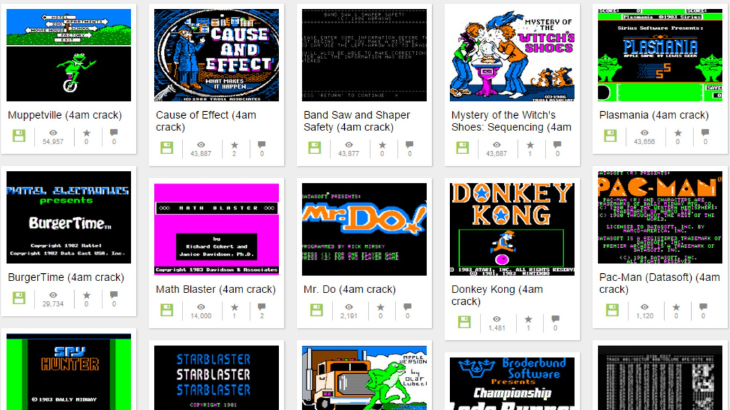 Play classic Apple II games on Internet Archive