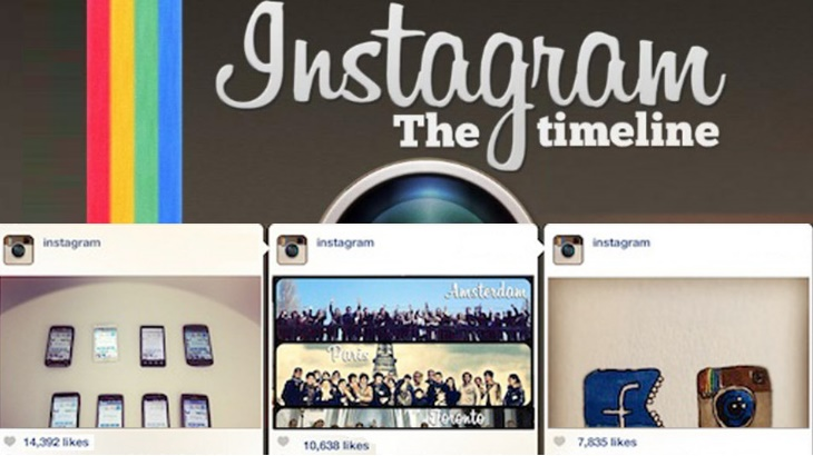 Instagram timeline will sort best posts first