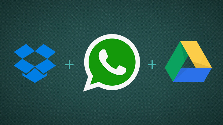 WhatsApp Update for iPhone gets Google Drive, Dropbox and iCloud Drive integration