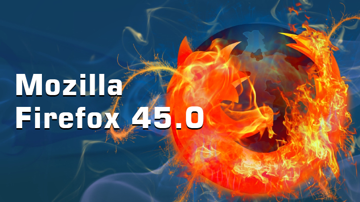 Mozilla Firefox 45.0 with disabled Linux GTK3 integration is available