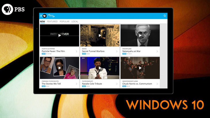 PBS Video app for Windows 10 review