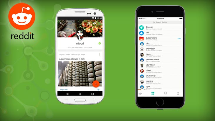 Official Reddit apps now available for iOS, Android