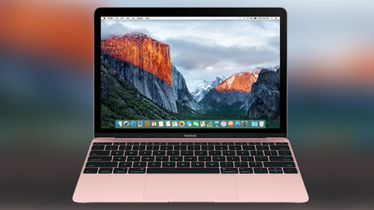 Apple Rose Gold MacBook and new processors