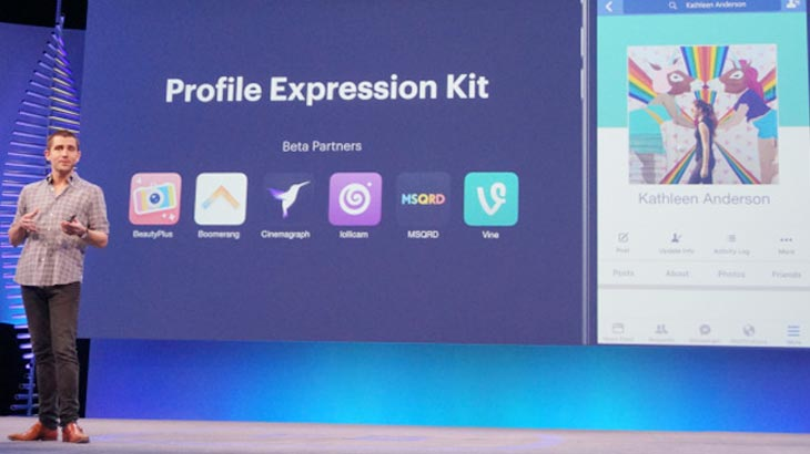 Facebook releases Facebook Profile Expression Kit