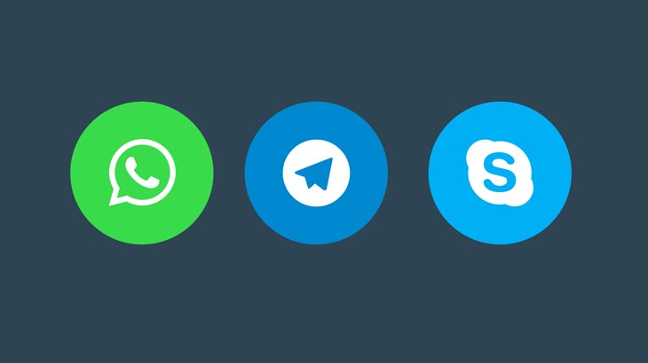 WordPress.com now lets you add share buttons for WhatsApp, Telegram, and Skype