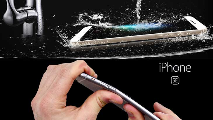SquareTrade lab conducts waterproof and bendgate tests on iPhone 5SE