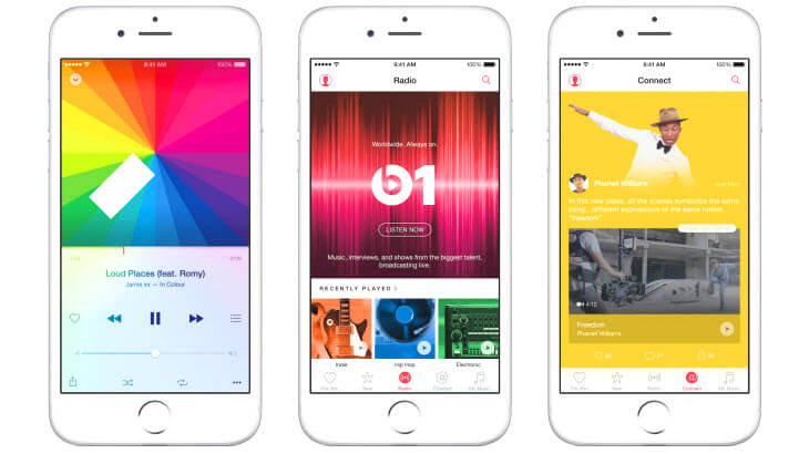 Apple Music Connect to be demoted in next iOS 10 update