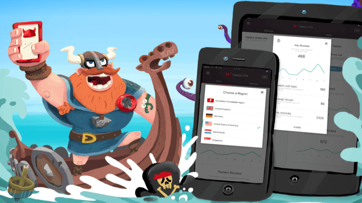Opera launches free VPN app for iOS
