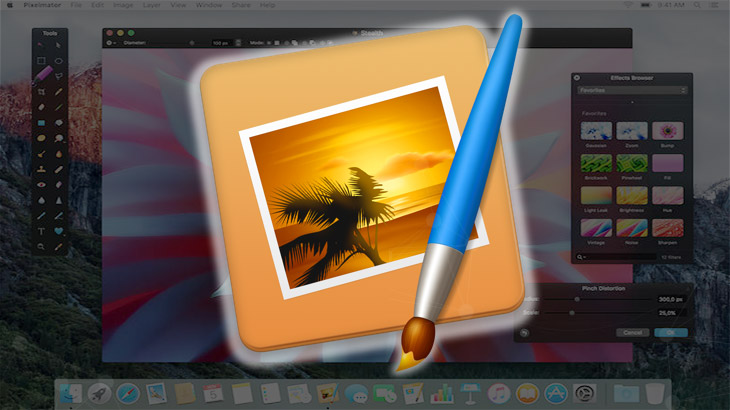 Pixelmator 3.5 Canyon brings enhanced selection tools, retouch extension for Photos