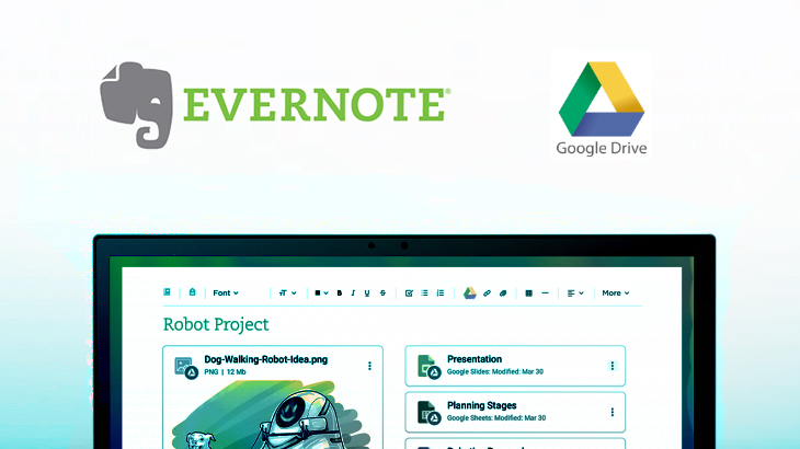 Grow your ideas with Evernote and Google Drive