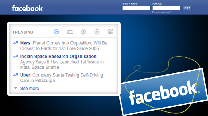 Facebook Trending Topics to be modified soon