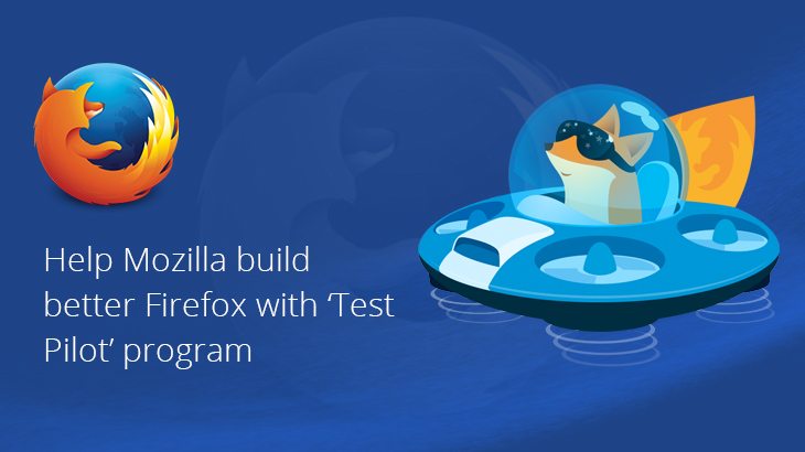 Help Mozilla build better Firefox with Test Pilot program