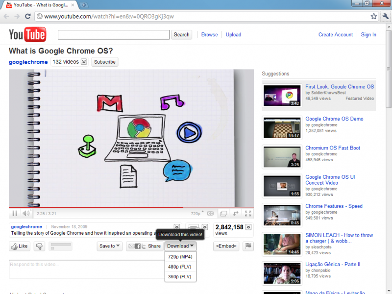 how to download videos using chrome