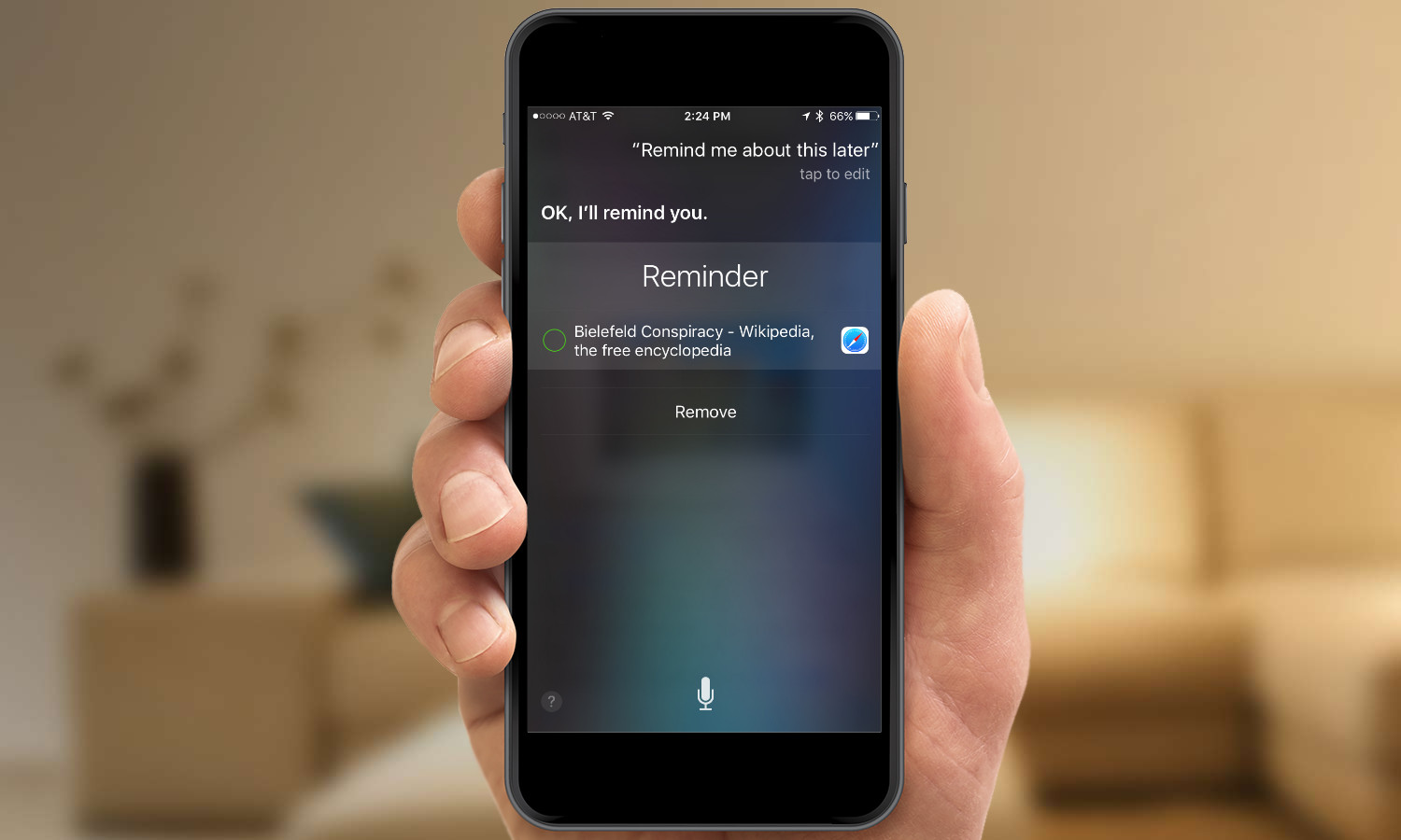 Remember this later Siri feature
