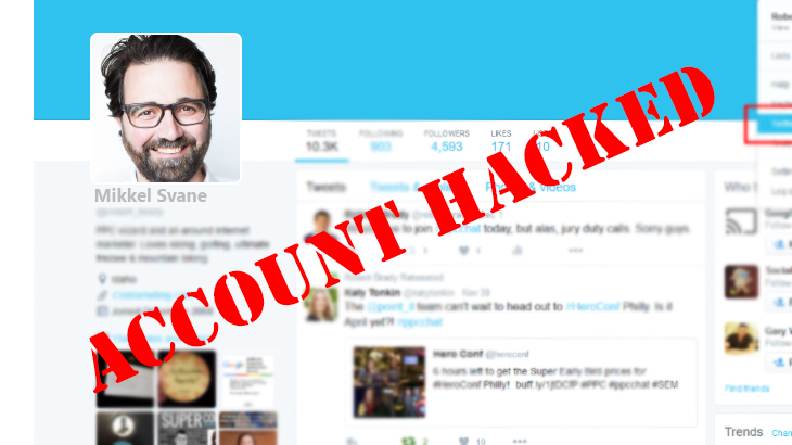 Zendesk Chief Twitter Account Hacked