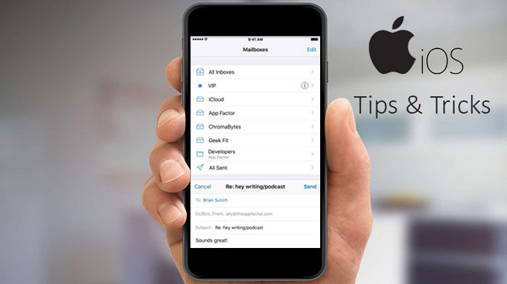 Tips and Tricks of iOS Mail