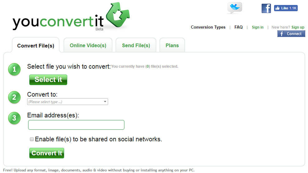 5. youconvertit Beta