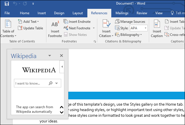 Working with Add-ins in Word