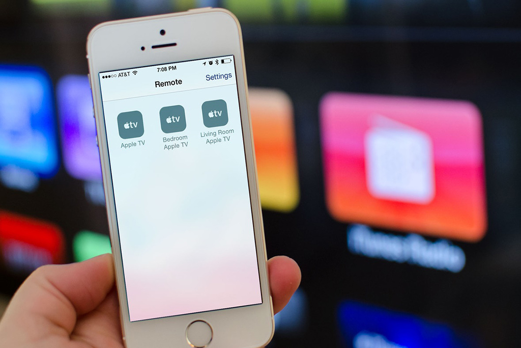 How to use iOS device as Apple TV remote control