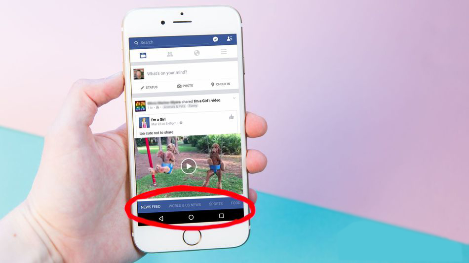 Facebook News Feed layout becomes more informative