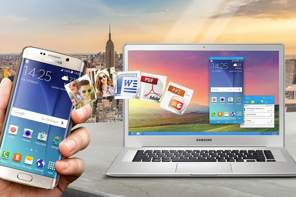How to share your PC and Mobile device using SideSync