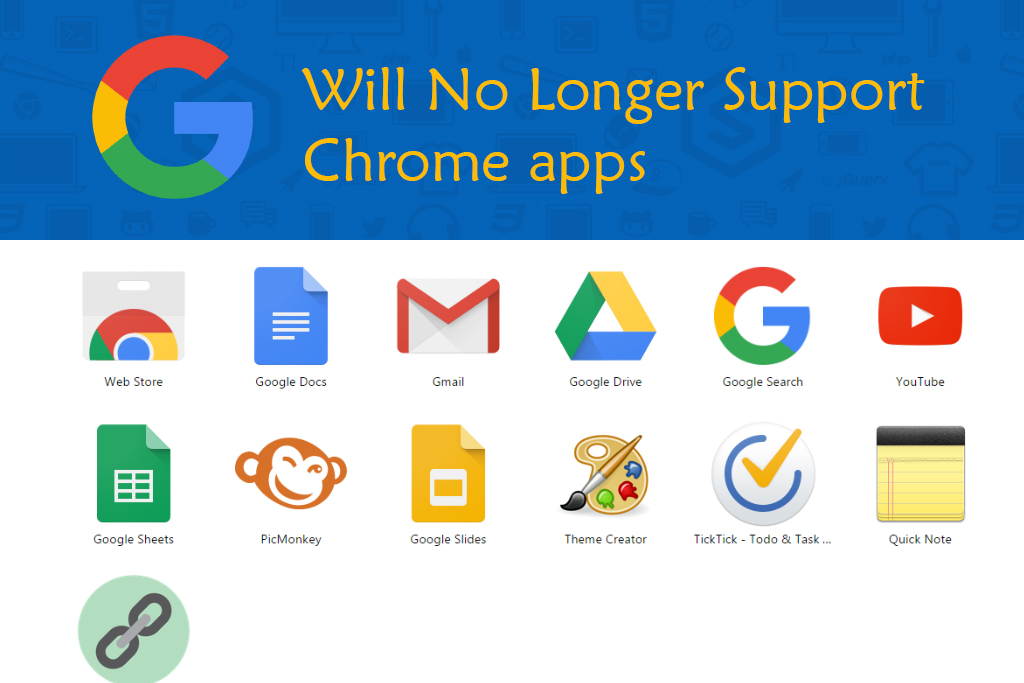 Google to end support for Chrome apps on Windows, Mac and Linux