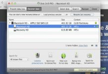 How to restore deleted files in OS X