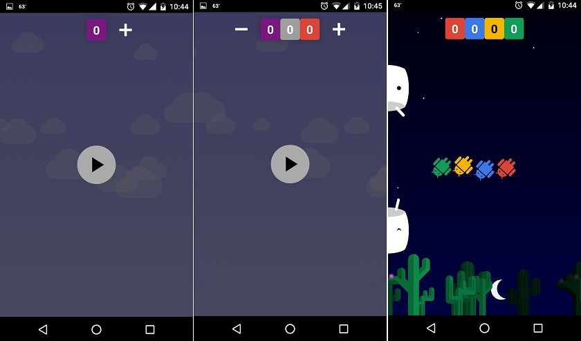 Android N - Google's Easter Egg game