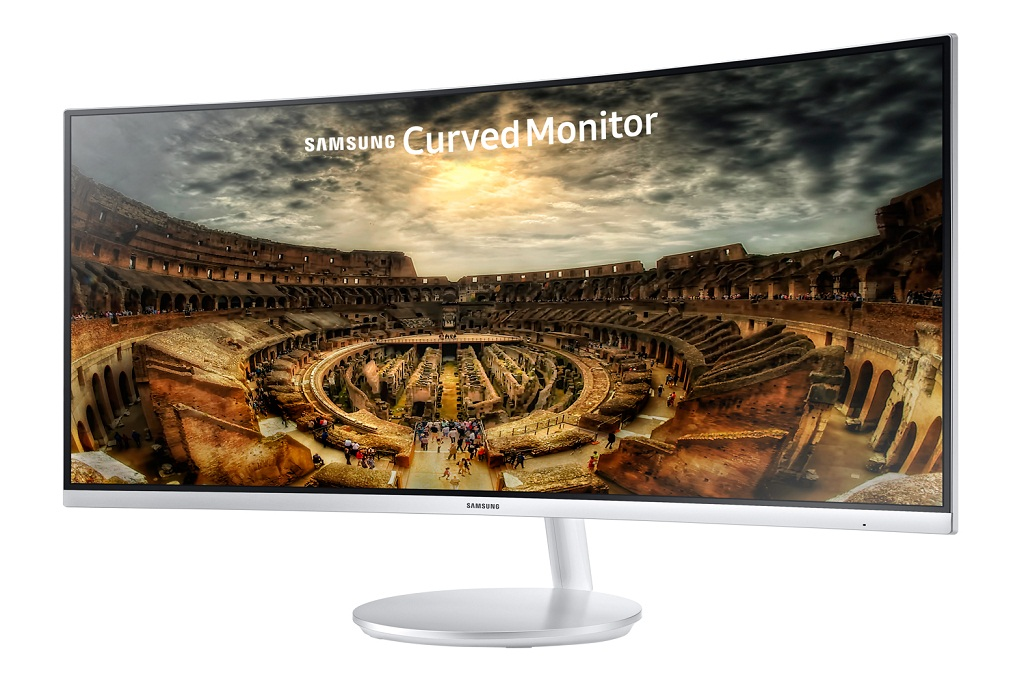 Sneak peek at Samsung's 34-inch Curved gaming monitor