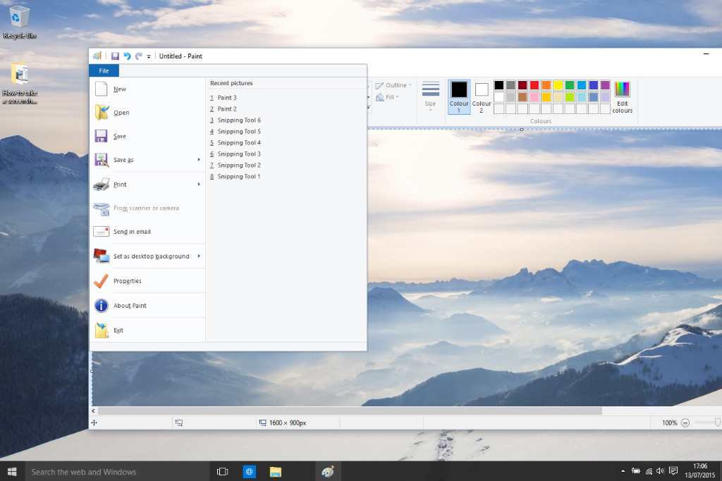 Take screenshots in windows 10 in 3 easy ways ccuart Gallery