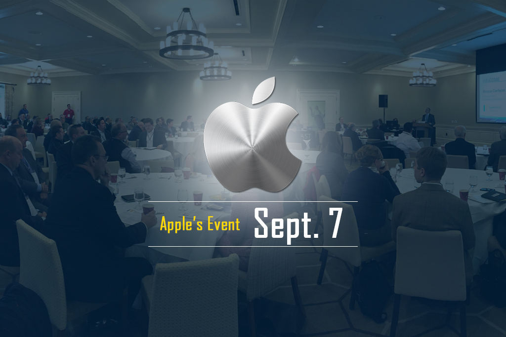 Quick sneak peek at Apple September 7 event