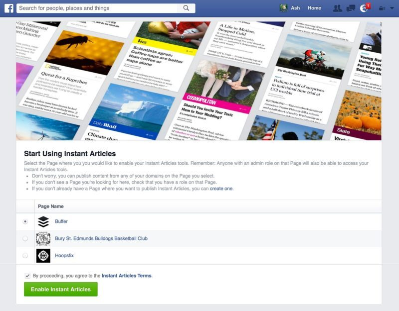 choose-your-facebook-page