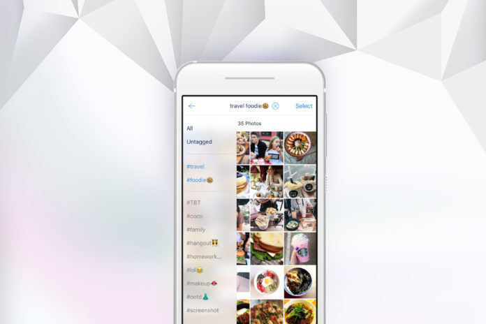How to organize your iOS photos using tags