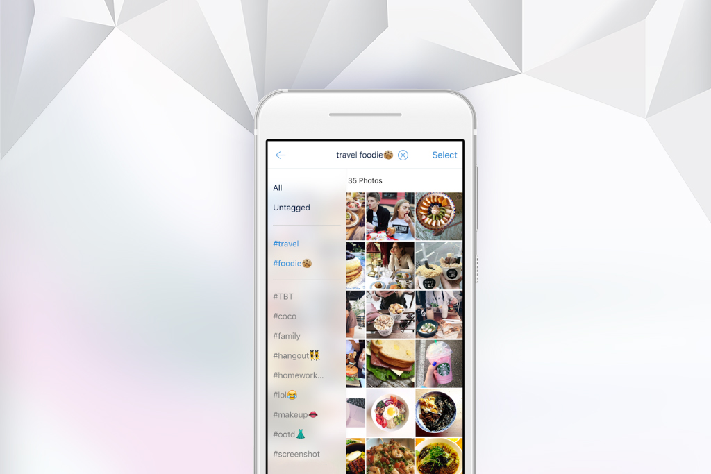 How to instantly organize your iOS photos using tags