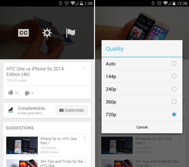 software  youtube for android