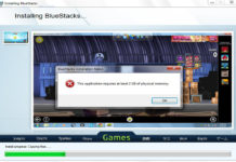 common Bluestacks Errors