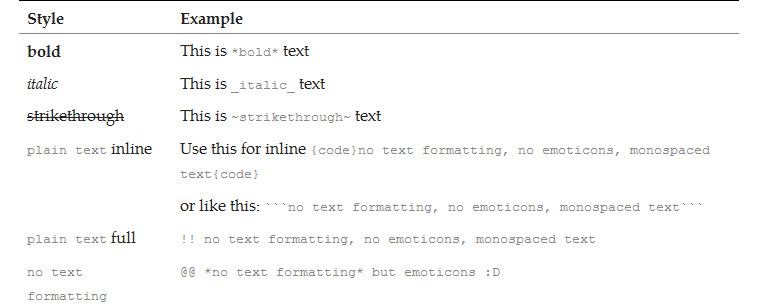 format-text-in-skype
