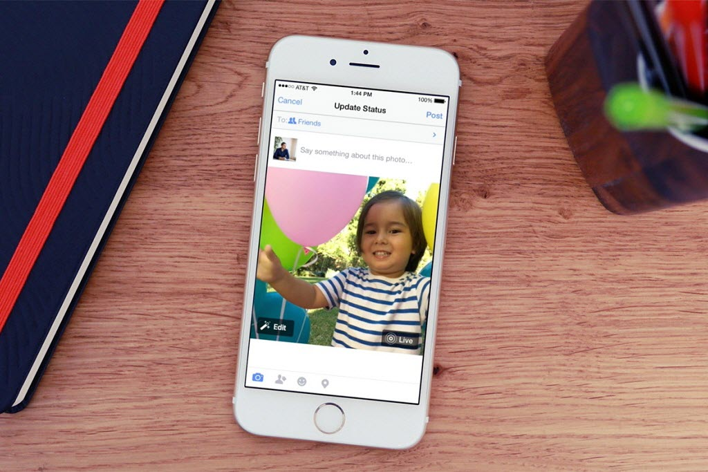 How to share Live photos on Facebook, Instagram and Twitter