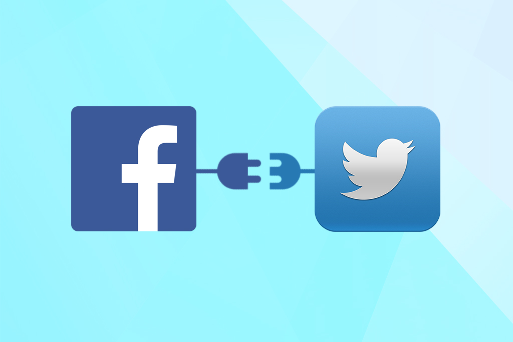 Complete guide to connect your Twitter and Facebook account