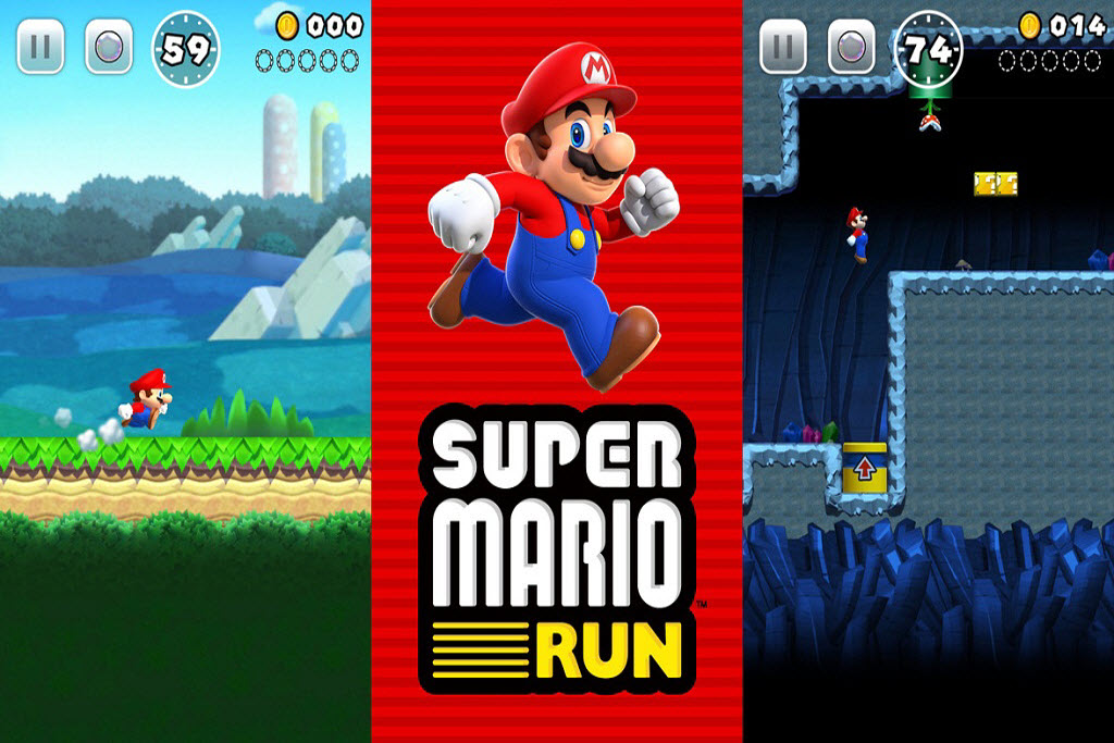 Nintendo launches Super Mario Run for iOS