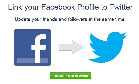 fb with Twitter