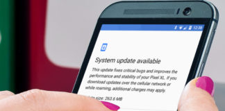How to manually check for system updates in Android