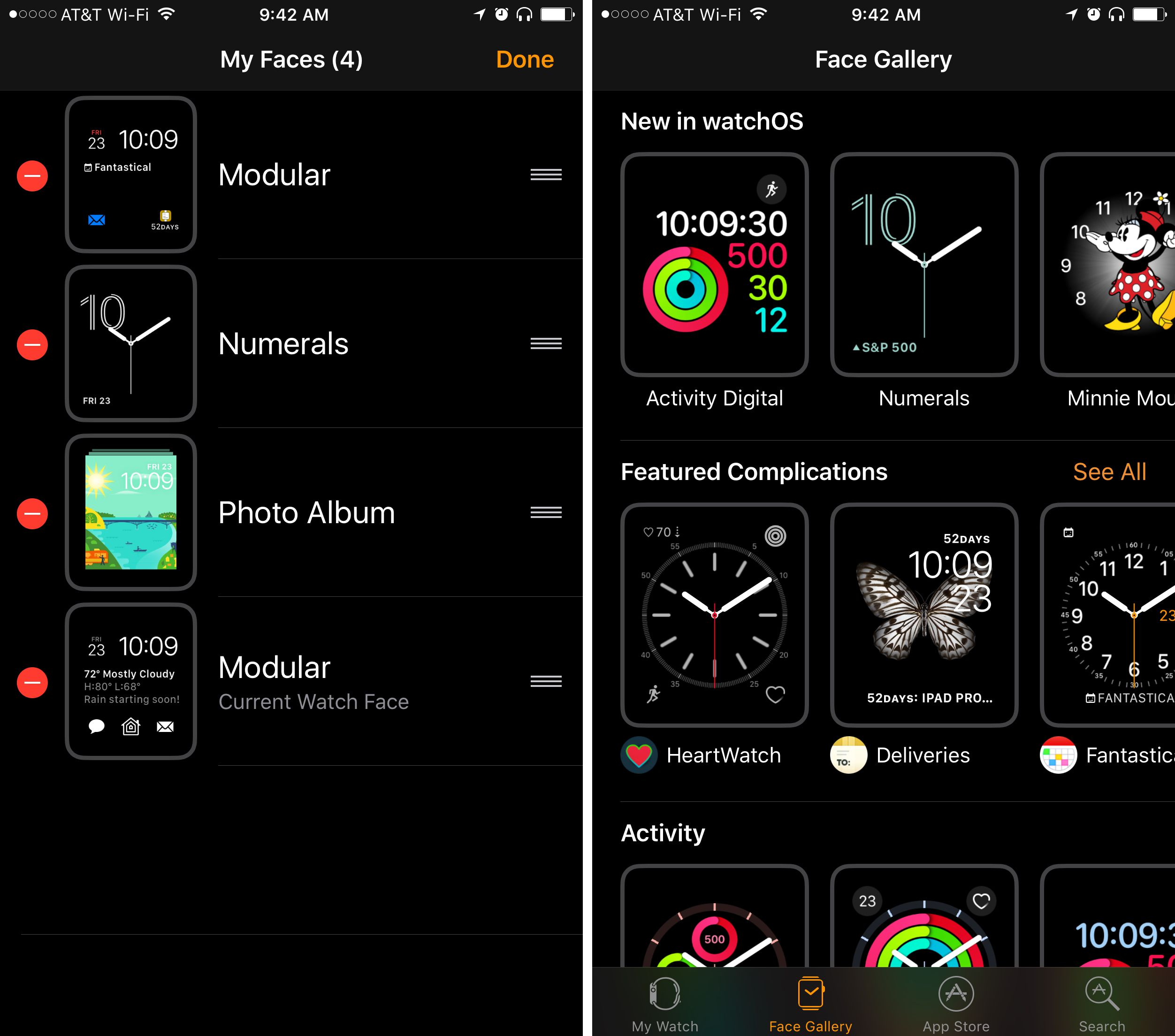 Personalize watch faces