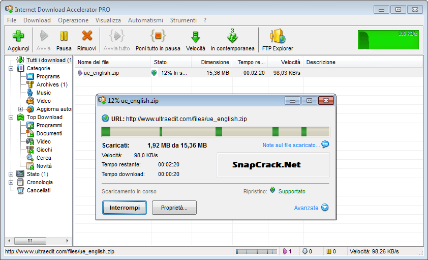 download-managers-for-Windows-Internet-Download-Accelerator